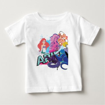 Disney Themed Ariel | Your Voice Baby T-Shirt