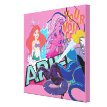 Ariel   Your Voice Canvas Print