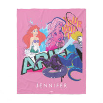 Ariel | Your Voice Fleece Blanket