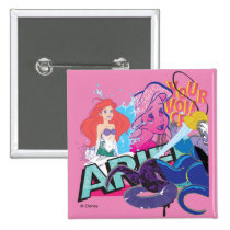 Ariel | Your Voice Pinback Button