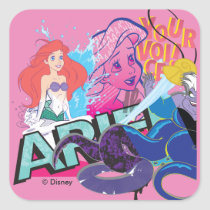 Ariel | Your Voice Square Sticker