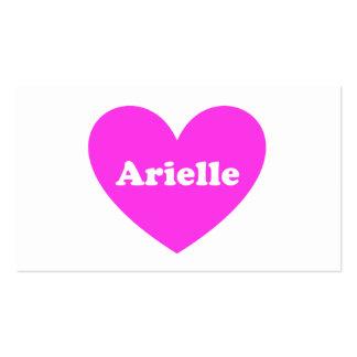 Arielle Tarjeta Personal