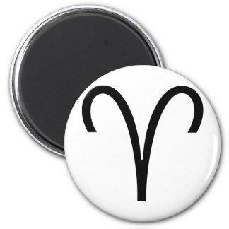 Aries 2 Inch Round Magnet