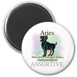 Aries About You 2 Inch Round Magnet