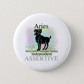 Aries About You Button