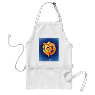 Aries Adult Apron