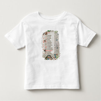 Aries and a man felling trees tee shirt