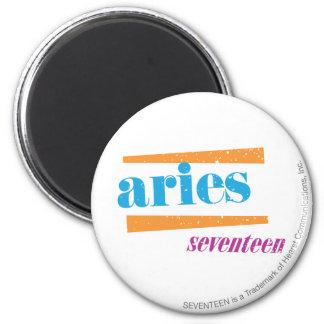 Aries Aqua 2 Inch Round Magnet