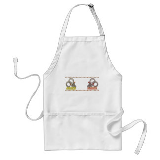 Aries Aries zodiac astrology mugmates Adult Apron