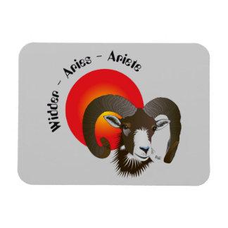 Aries - asterisk Premium Flexi magnet