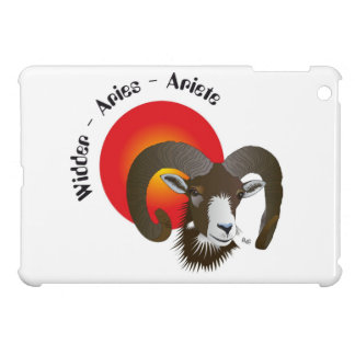 Aries - asterisks iPad mini covering iPad Mini Cover