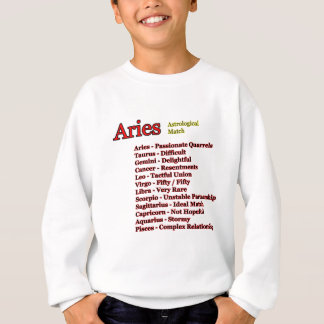 Aries Astrological Match The MUSEUM Zazzle Gifts Sweatshirt