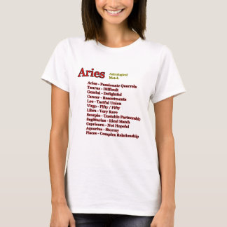 Aries Astrological Match The MUSEUM Zazzle Gifts T-Shirt