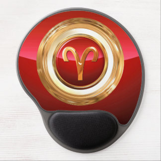 Aries Astrological Sign Gel Mouse Pad