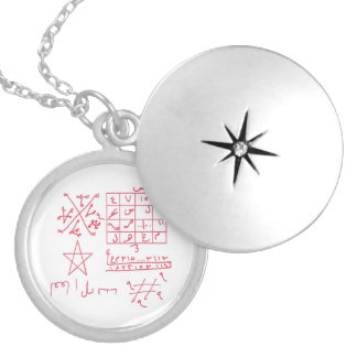 Aries Astrological Talisman Good Luck Charm Locket Necklace
