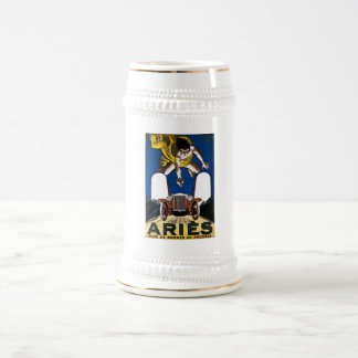 Aries Automobile - Vintage French Advertisement Mug