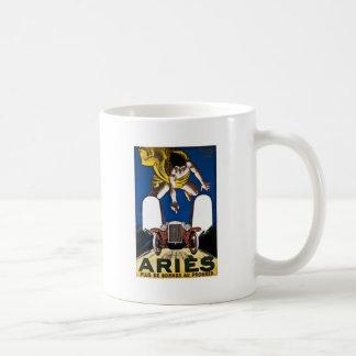 Aries Automobile - Vintage French Advertisement Coffee Mug
