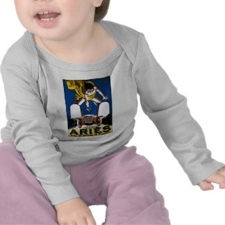 Aries Automobile - Vintage French Advertisement Tee Shirts