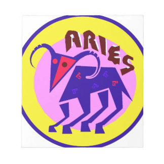 Aries Badge Notepad