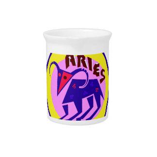 Aries Badge Pitchers