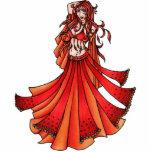 Aries Belly Dancer Cutout