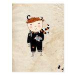 Aries Boy Zodiac Sign Postales