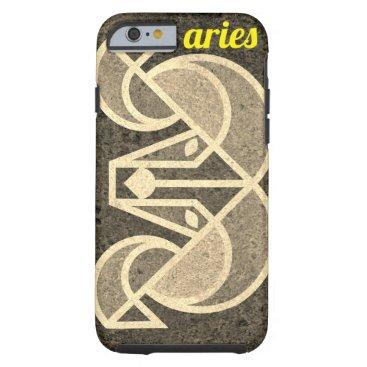 aries / tough iPhone 6 case