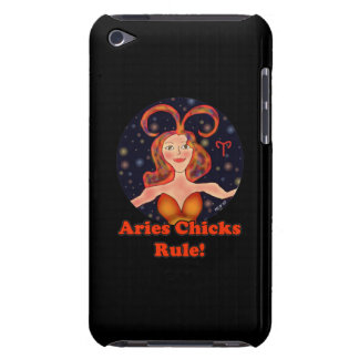 Aries Chicks Rule! Barely There iPod Cover