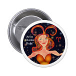 Aries Chicks Rule! Button