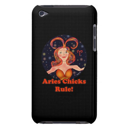 Aries Chicks Rule! Case-Mate iPod Touch Case