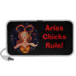 Aries Chicks Rule! Laptop Speaker
