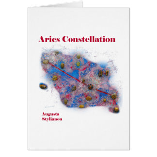 Aries Constellation Cards