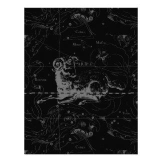 Aries Constellation Hevelius 1690 March 21 - Apr19 Custom Flyer