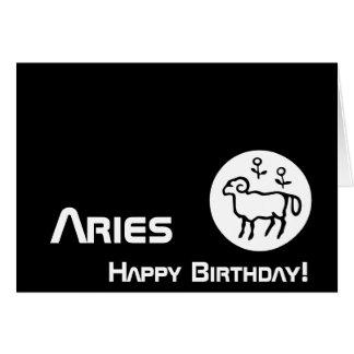 ¡Aries, cumpleaños! - Personalizar Felicitación
