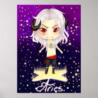 Aries de Chibi Poster
