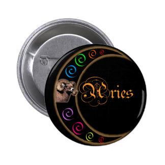 Aries de la luna de Celestrial Pin Redondo 5 Cm