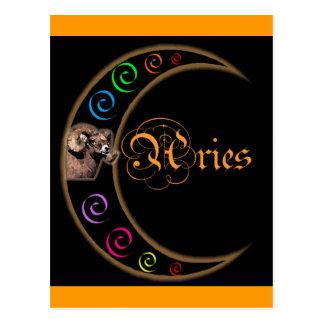Aries de la luna de Celestrial Tarjetas Postales