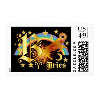 Aries-Design-1-B Stamp