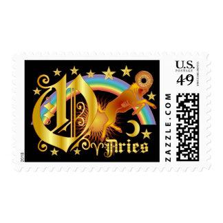 Aries-Design-1-O Postage Stamp