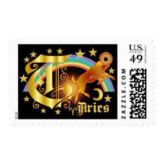 Aries-Design-1-T Postage Stamps