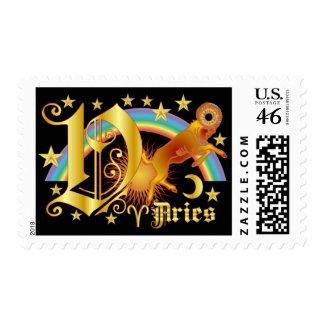 Aries-Design-1-V Stamp
