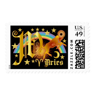 Aries-Design-1-W Postage Stamps
