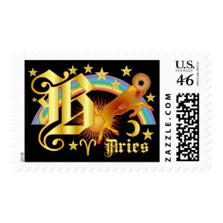 Aries-Design Font-2-B Stamp