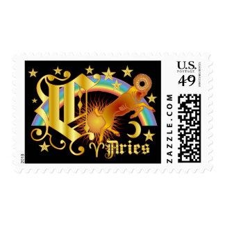Aries-Design Font-2-C Postage Stamp