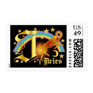 Aries-Design Font-2-J Stamp