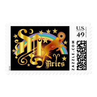 Aries-Designc Font-2-Y Stamp