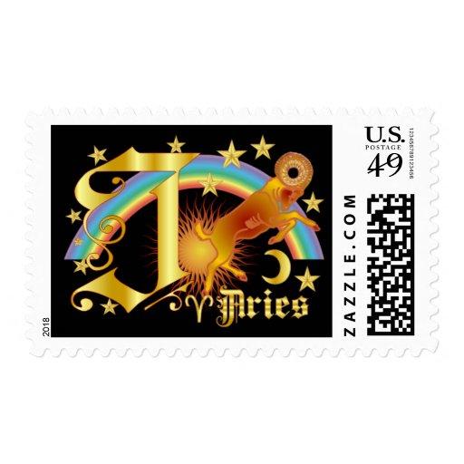 Aries-Diseño Font-2-J Timbres Postales