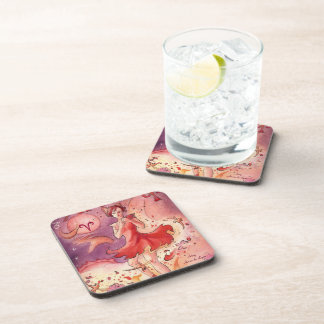 Aries Drink Coaster