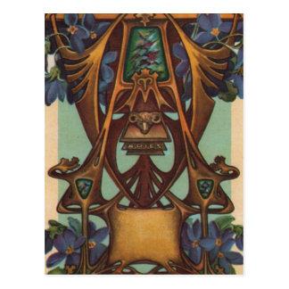 Aries el espolón - zodiaco tarjeta postal