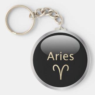 Aries el llavero del zodiaco de la muestra de la e